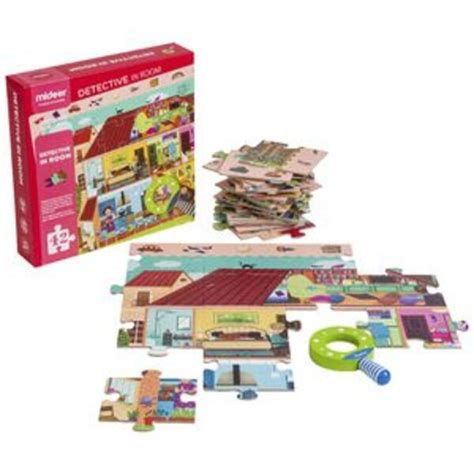 Mideer Detective In Room Puzzle 42 Pieces   Officeworks