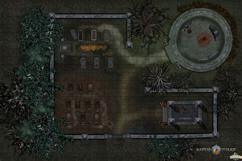 Graveyard by LilJay This is a free tabletop rpg map by the