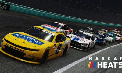 NASCAR Heat 5 Drivers, Cars and All Paint Schemes