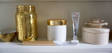 Get Quip With This Gold Toothbrush (& Subscription Service