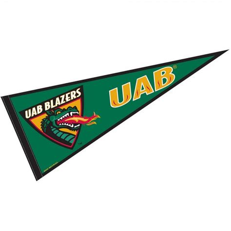 University of Alabama-Birmingham Pennant and Pennants for