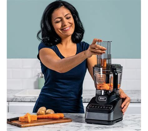 NINJA BN650UK Food Processor - Silver Fast Delivery | Currysie