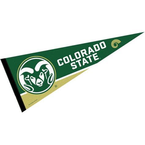 Colorado State University Pennant and Pennants for