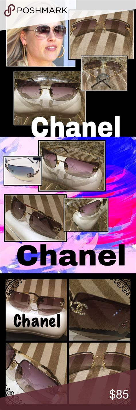 Hold 6/2 Chanel Gold, Lilac Lenses Sunnies 7828   Chanel