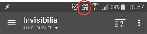 """What is this """"Vo LTE"""" notification bar icon? - Android"""