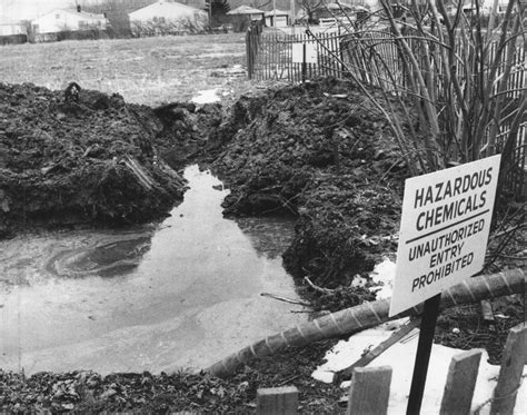 New York State Plans to Excavate Love Canal Waste from