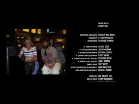 The hangover - end credits - YouTube