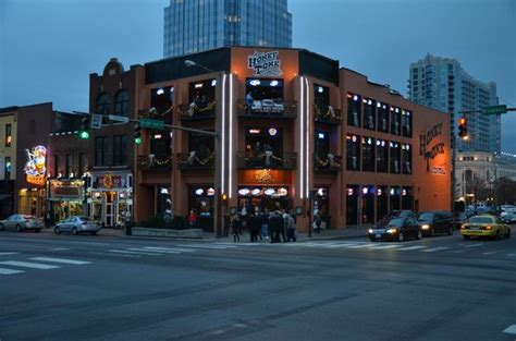 Bars on Broadway - Picture of Downtown Nashville