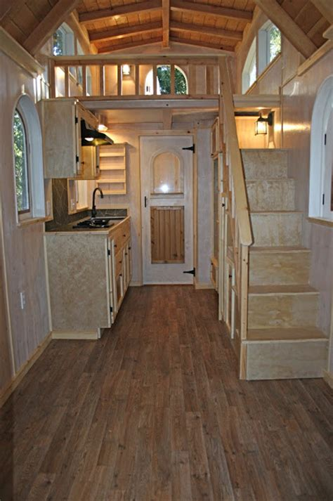 Cozy Chalet Tiny House on Wheels by Molecule Tiny Homes