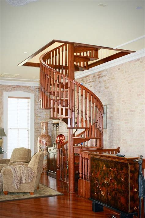 Spiral Stair Applications - Indoor Spiral Staircases