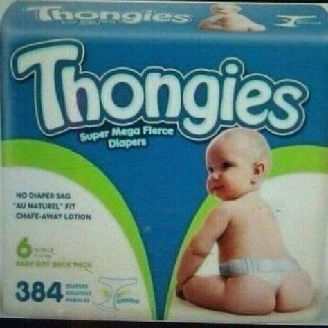 Thongies Diapers For Babies   Funny Baby Funny