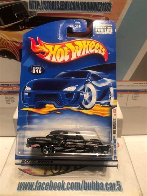 HOT WHEELS VHTF 2001 FIRST EDITIONS SERIES FORD